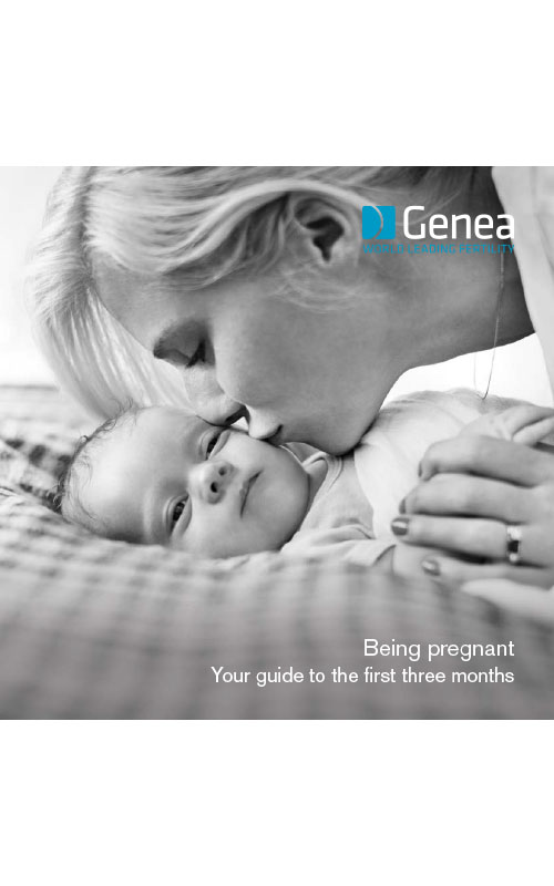 Genea First Trimester Infographic